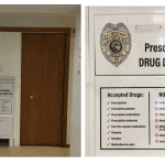 Prescription Drug Drop Off Box. May 2017
